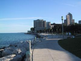 Lakefront from Loyola