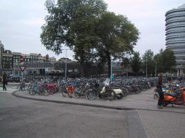 Bicycles at Centraal