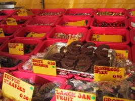 Chocolate Euro - fifty cents!