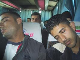 Bus to Jerash