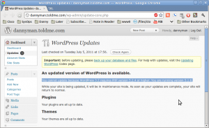 """""""You cannot update because WordPress 3.2 requires PHP version 5.2.4 or higher. You are running version 5.1.6."""""""