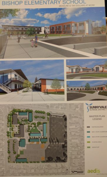 Renderings of new campus and a site plan.